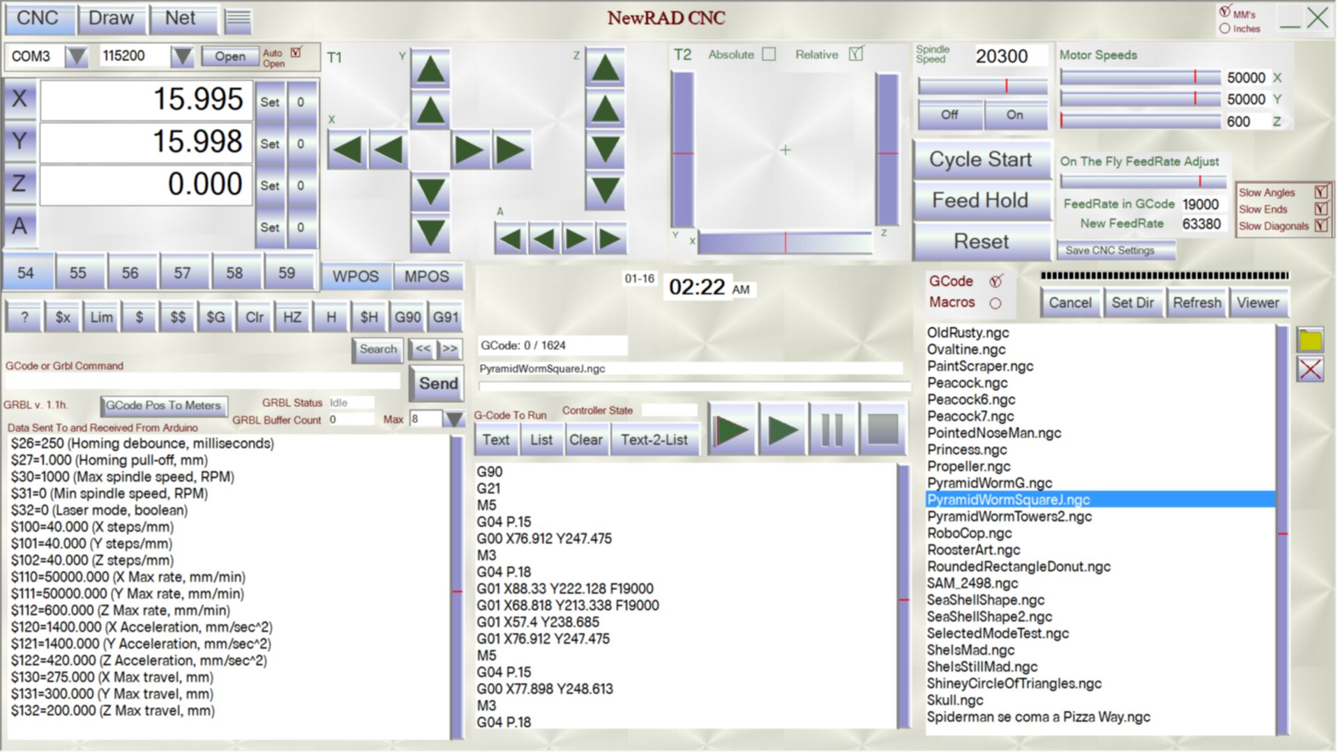 Arduino cnc software free download